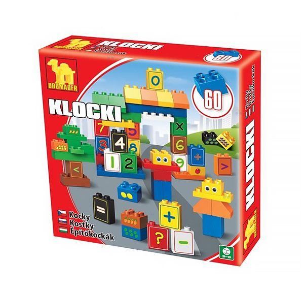 Zestaw klocków dydaktycznych Cyfry. Idealna zabawka dla każdego dziecka.  #klocki #supermisiopl