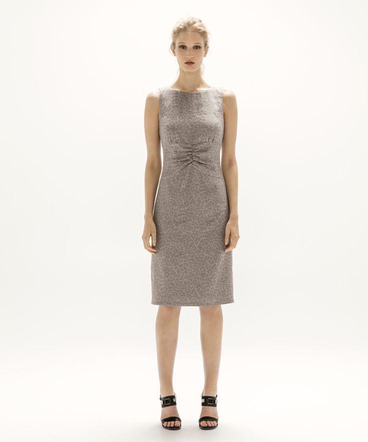 Anna Dress - Grey
