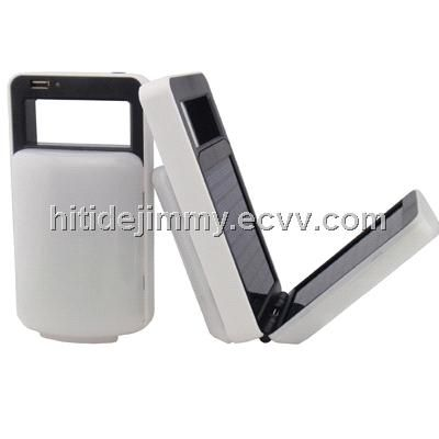 China Solar Lamp Supplier with Phone Charger (HTD501-8H) - China solar lamp, Hitide
