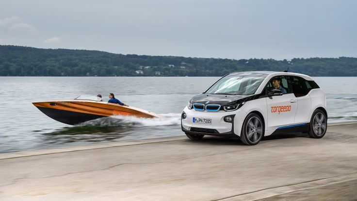Torqeedo electric boats powered by BMW i3 batteries