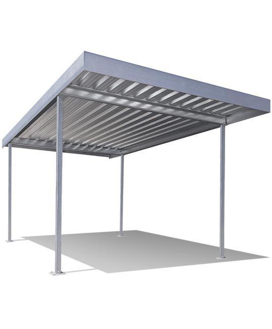 Rv Carport Flat Roof : Stratco frontier carport verandah and patio system
