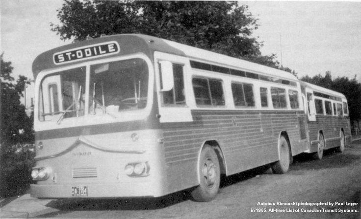 Transport en commun - Autobus Prevost, 1965