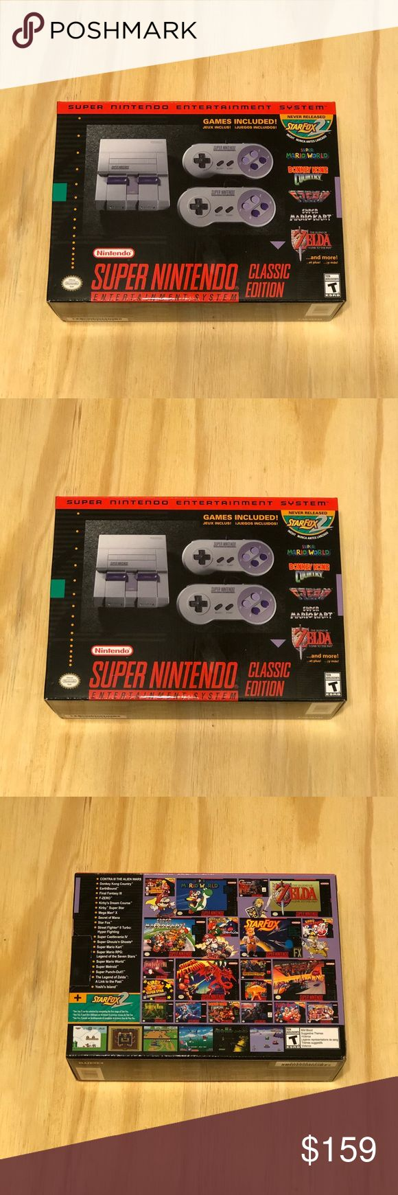Super Nintendo Mini SNES. New In Box. Super Nintendo Mini. SNES. Hard To Find. New In Box. Nintendo Other
