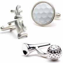 Golf - Gemelli camicia golf - mazze e palla