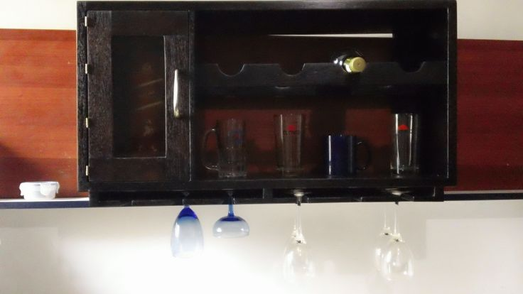 Hecho por mi, Bar para pared minimalista