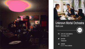 Unknown Mortal Orchestra • Multi-Love • Review «Multi-Love é cheio de brio e de uma soul enfeitiçada por habilidosas composições orgulhosamente pop. Tudo isto à luz de umas quantas lâmpadas de lava que mantêm o tom psicadélico que nos fez apaixonar por eles em primeiro lugar.» #UnknownMortalOrchestra #MultiLove #Jagjaguwar #SuperBockSuperRock #RubanNielson #Review #AndréValenteFranco #TrackerMagazine