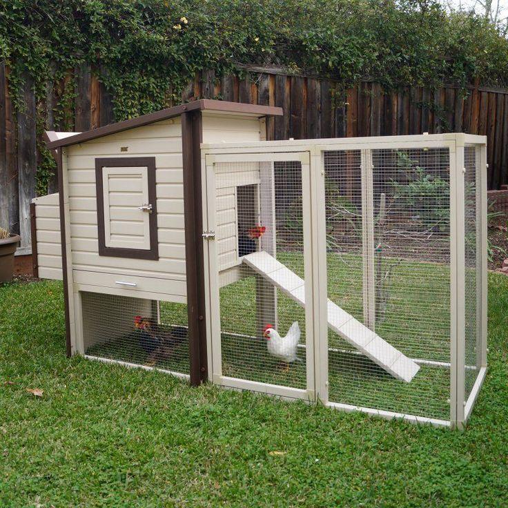 New Age Pet ecoFLEX Fremont Chicken Coop - ECHK603