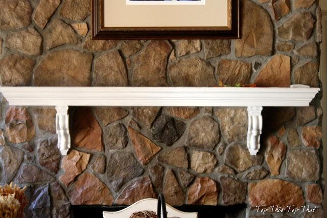 Fireplace Mantle idea