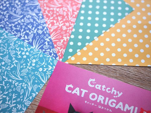 Catchy Cat Origami Origami has been a big part of Japanese art culture. Since paper folding was introduced to Japan, Japanese have developed particular ways to