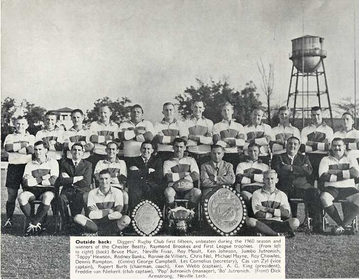 1960 diggers rugby club history - Google Search