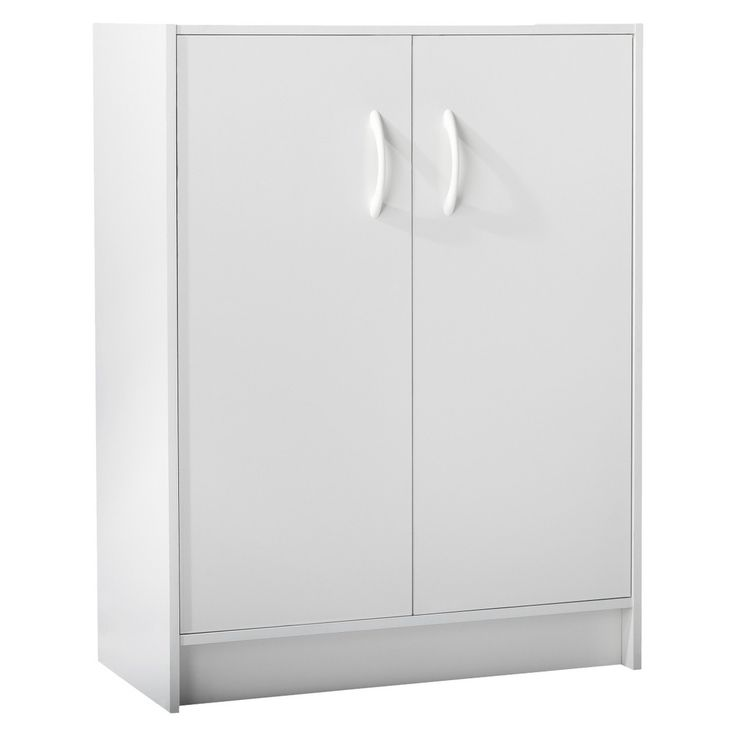 Room Essentials� 2-Door Organizer - White Might be a great diy AG doll closet