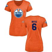Women's Edmonton Oilers Design Your Own V-Neck Tri-Blend T-Shirt - Shop.NHL.com