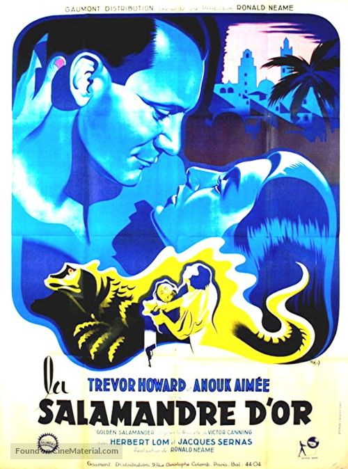 Golden+Salamander+French+movie+poster