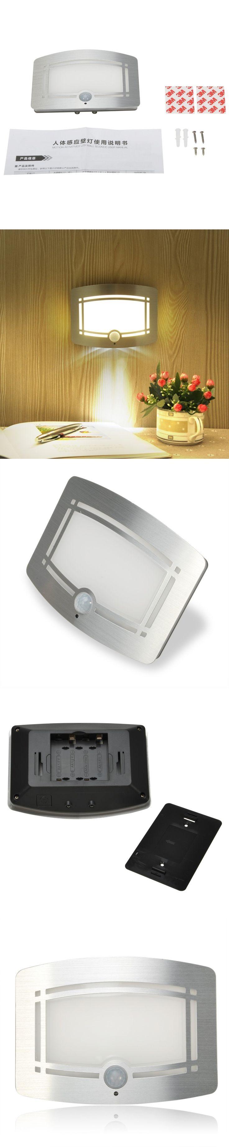 Night light Lamps Motion Sensor Night Light Intelligent LED Human Body Motion Induction wall Lamp