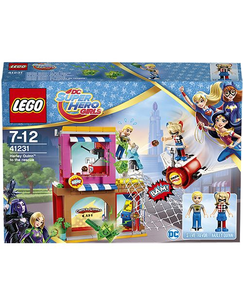 Lego Харли Квинн спешит на помощь