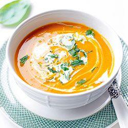 Zupa dyniowa z curry