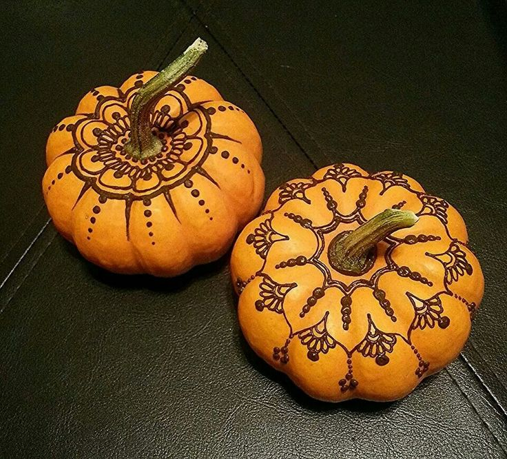 Fall Henna Designs: Henna Pumpkins, I Want To Try This.