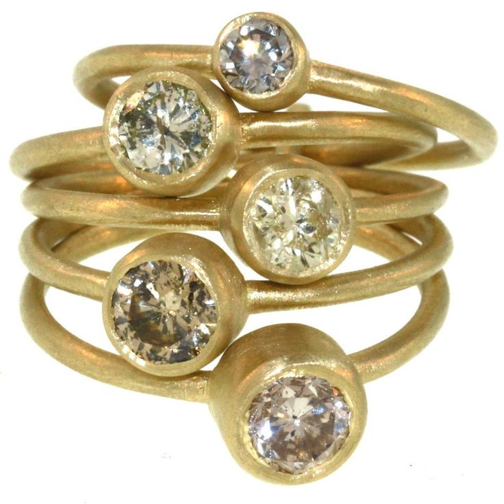 5 Part Old-European Cut Diamond Ring