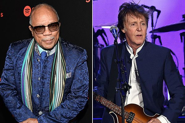 Quincy Jones Says the Beatles Were 'No-Playing Motherf---ers'      Quincy Jones unveiled a particularly unfavorable opinion of the Beatles in February 2018. http://ultimateclassicrock.com/quincy-jones-beatles/?utm_campaign=crowdfire&utm_content=crowdfire&utm_medium=social&utm_source=pinterest