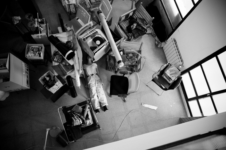 Azucena González Atelier. 2012        Photography by Carmen Gray.