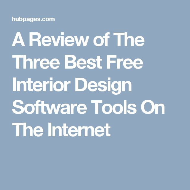 A Review of The Three Best Free Interior Design Software Tools On The Internet