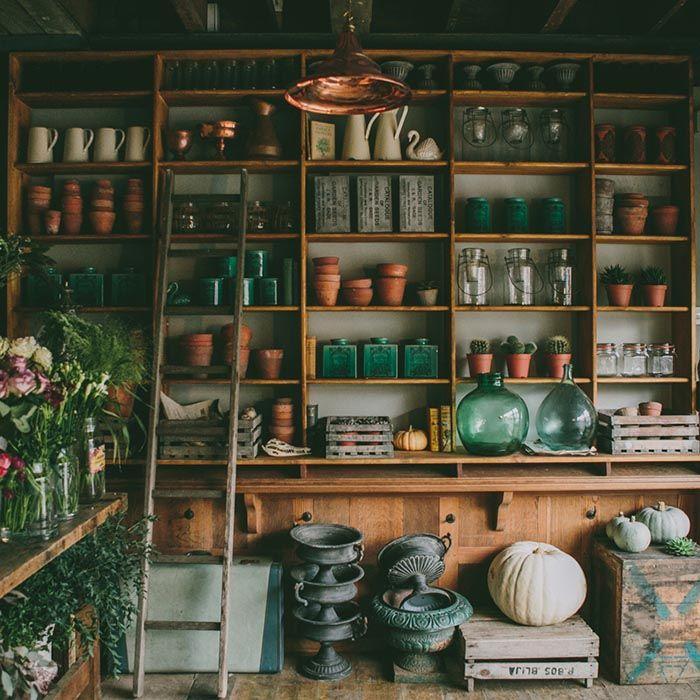 Tiendas de flores a la vieja usanza