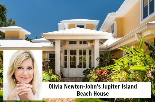 Olivia Newton-John 104 Lighthouse Jupiter FL house