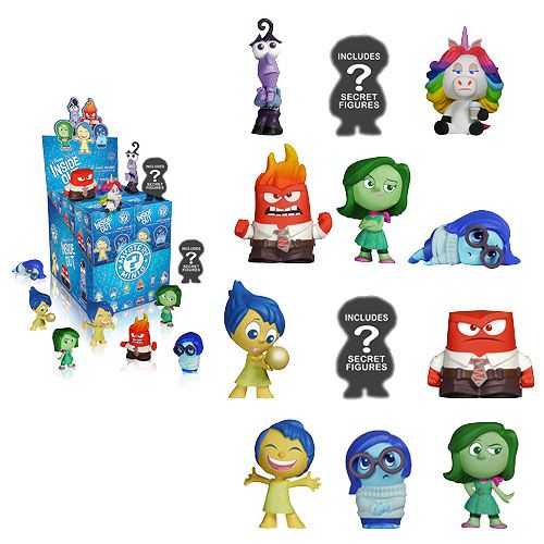 disney inside out | Disney Pixar Inside Out Funko Mystery Minis - PopVinyls.com