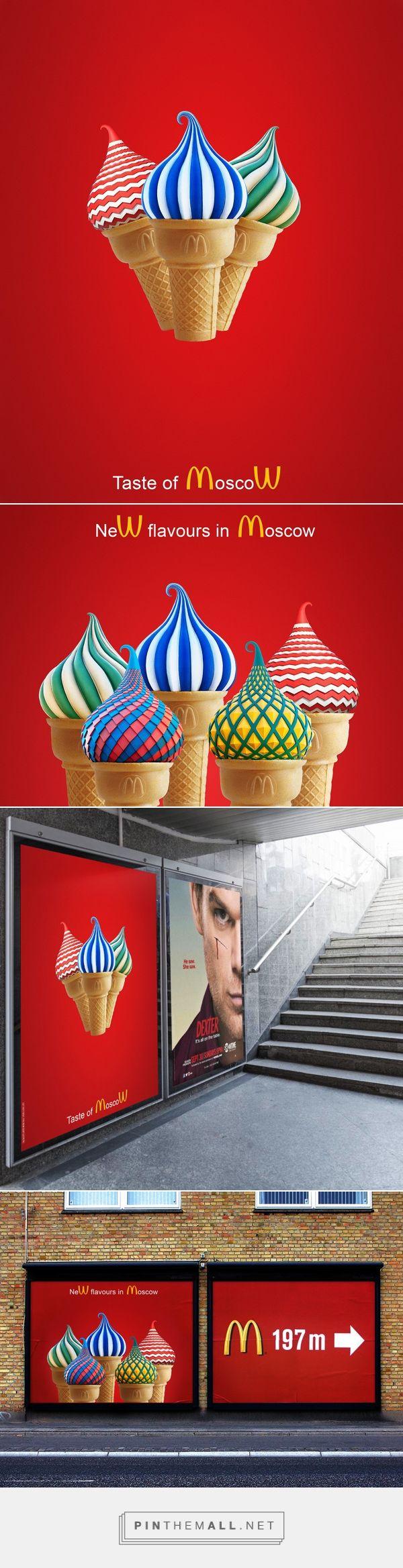 McDonalds: Taste of Moscow on Behance - idée : Patrick Dufour ( sur Behance )