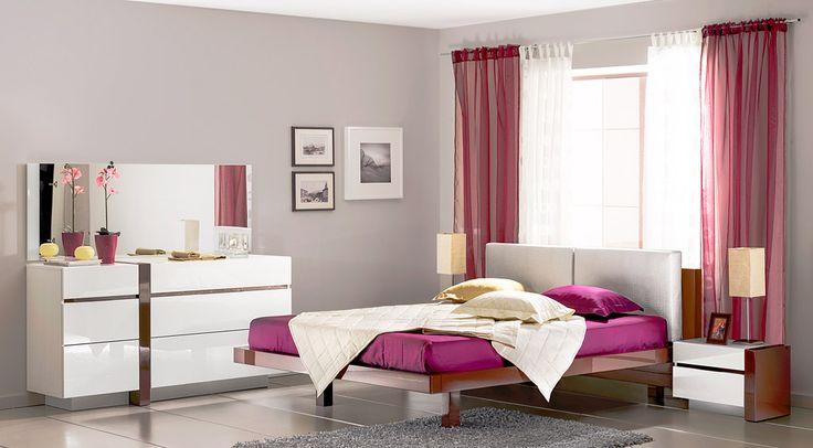 Глянцевая спальня | Дизайн интерьера современной спальни  #астрон #мебель #astron #спальни