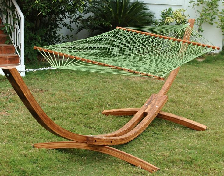 lovely diy wooden hammock with stand
