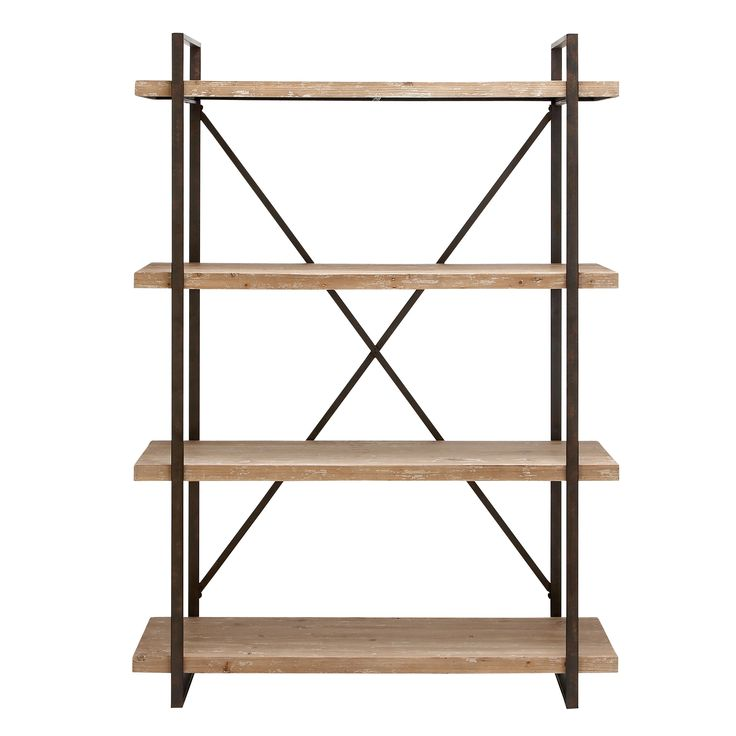 "Cole & Grey 67"" Étagère Bookcase"