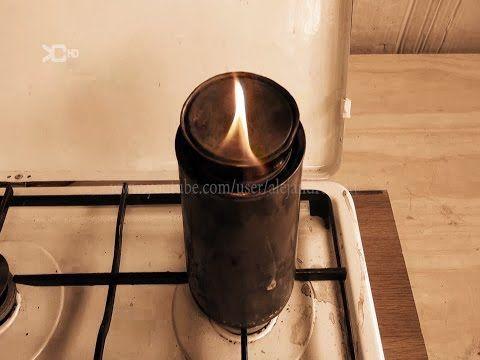 Paño carbonizado para encender fuego con pedernal - YouTube