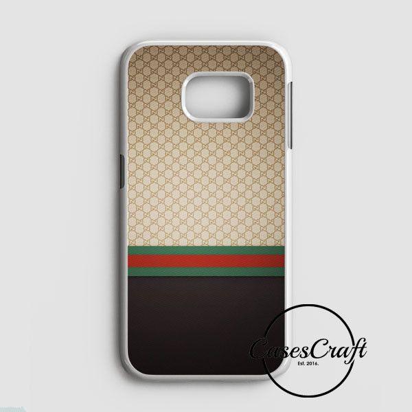 Gucci Designer Label Patterns Wall Samsung Galaxy S7 Edge Case | casescraft