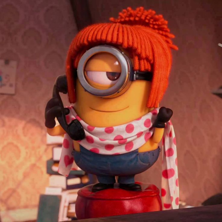 Red Head Minion!! | Red heads | Pinterest | Minions, Red ...