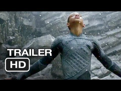 After Earth Official Trailer #1 (2013) - Will Smith Movie HD    After a crash landing, a father and son explore a planet that was evacuated by humans 1,000 years earlier.
