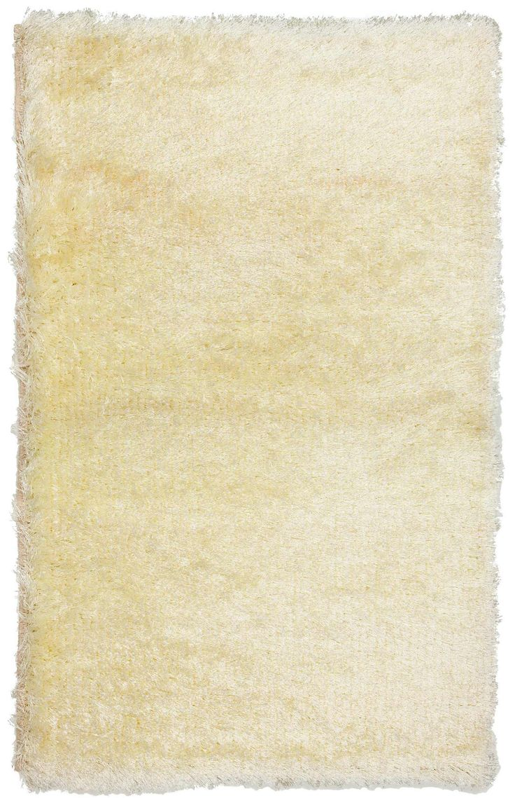3x4 White Shag Rug