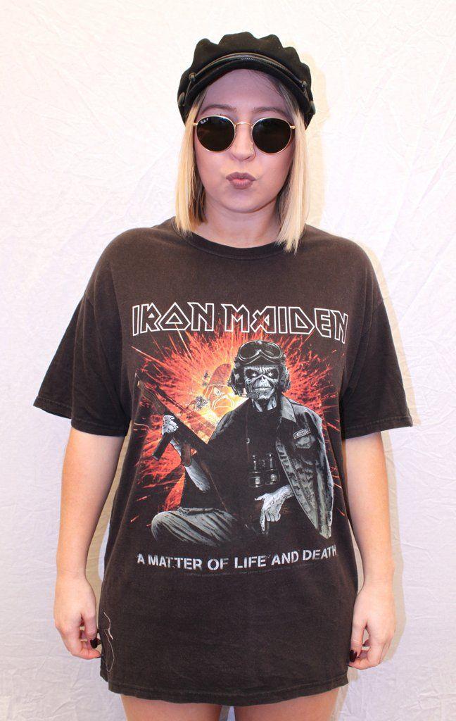 Iron Maiden Tee Large