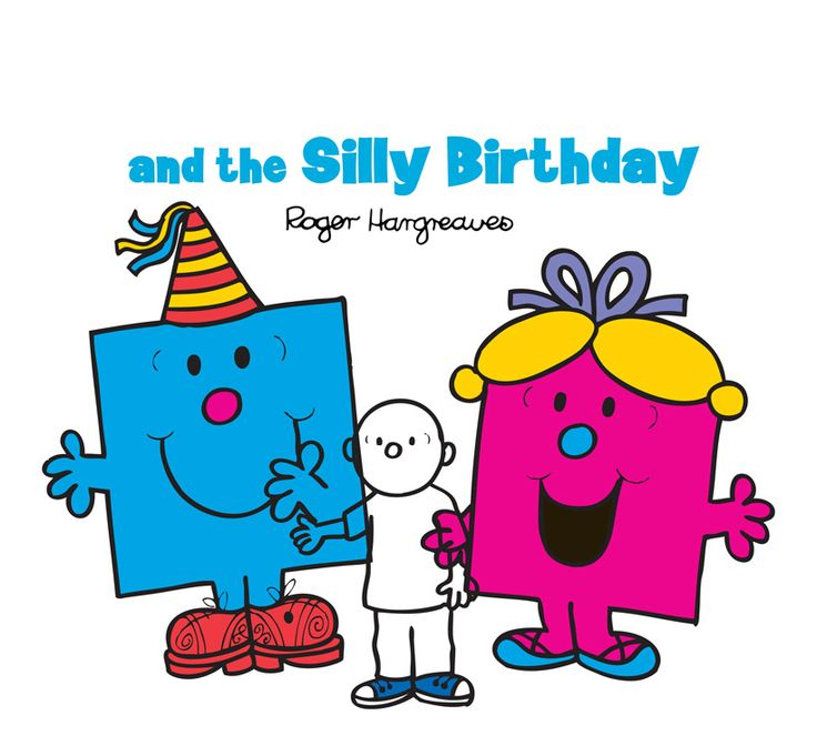 » Mr. Men – 'You' and the Silly Birthday Party (gift format)