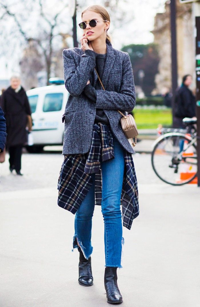Every Fashion Girl Swears by These 8 Denim Hacks via @WhoWhatWear