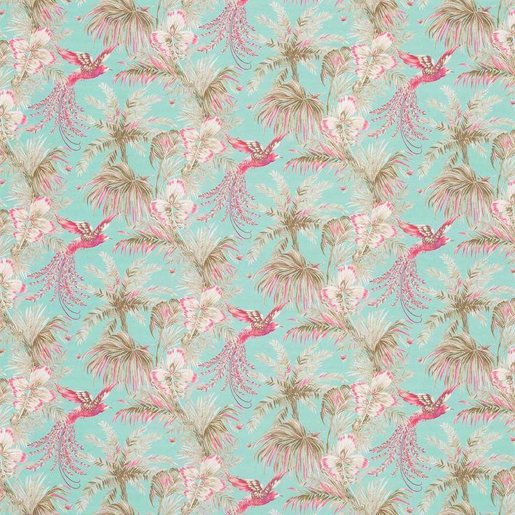 Tissu Bird of Paradise Matthew Williamson Bird