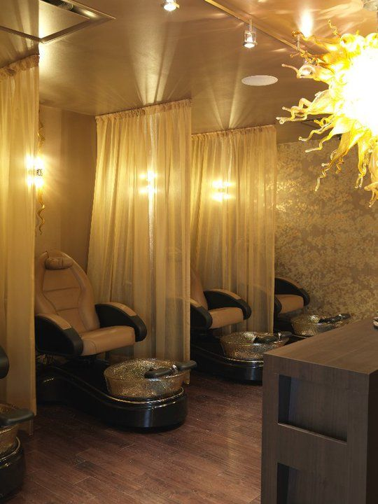 Best 25 nail salon decor ideas on pinterest beauty for A little luxury beauty salon