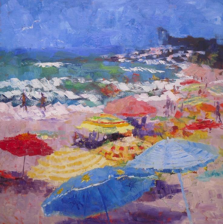 Beach umbrellas ~ Seascapes