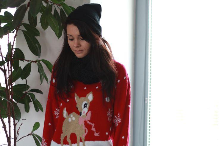 Čiapka, sveter, šál