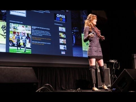 Amy Purdy - Greeting Adversity. Changing disabilities into Super Abilities.
