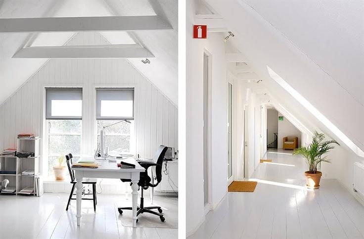 17 beste afbeeldingen over zolder op pinterest mezzanine fotografie en slaapkamers op zolder - Thuis kantoor ...