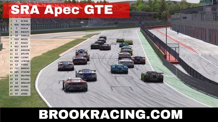 iRacing Sim Racers Asia APEC GTE Imola