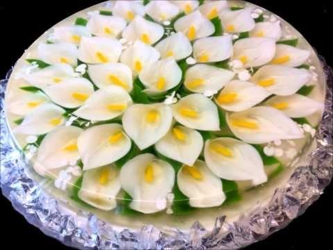 Желейный торт 3D цветы в желе (мастер-класс). Обсуждение на LiveInternet - Российский Сервис Онлайн-Дневников