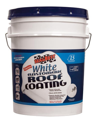 Best White Elastomeric Roof Coating 15 Year Protection At 400 x 300