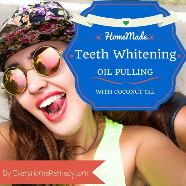 Zahnaufhellung zu Hause: Starten Sie noch heute mit dem Ölziehen!